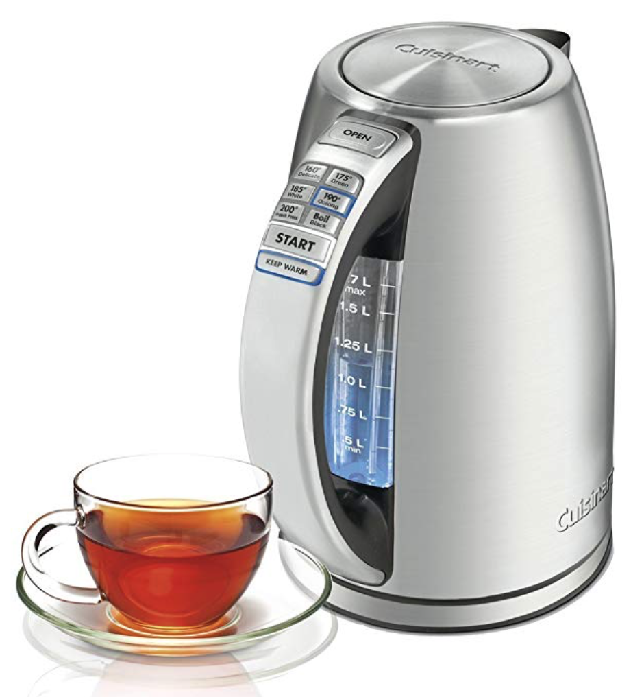 Cuisinart Stainless Steel Cordless Electric Kettle best gift ideas for tea lovers
