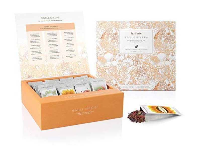 Tea Forte Loose Leaf Tea Chest best gifts for tea lovers.