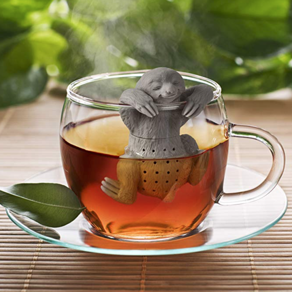 Fred Slow brew sloth tea infuser best gift ideas for tea lovers