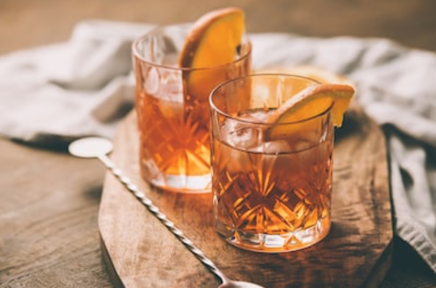 bourbon ice tea cocktail