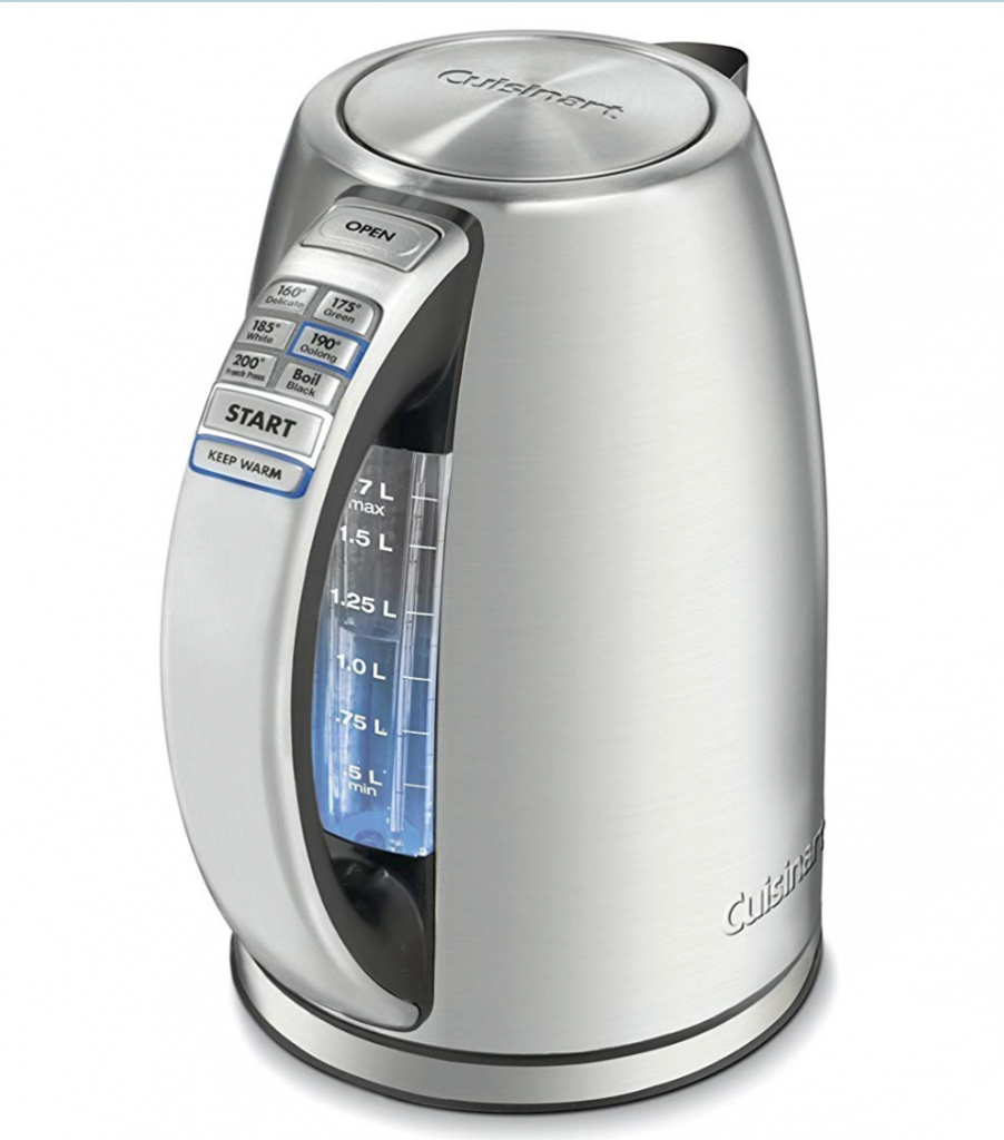 Cuisinart CPK-17 PerfectTemp 1.7 Liter Stainless Steel Cordless Electric Kettle