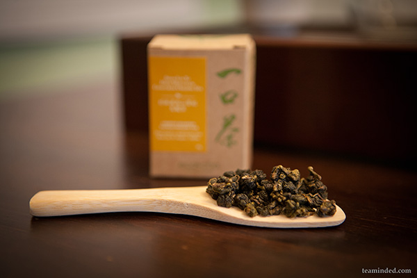 Dry loose leaf oolong tea from eco cha