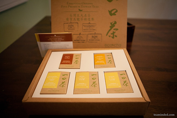 Assortment of the best oolong teas from Eco Cha