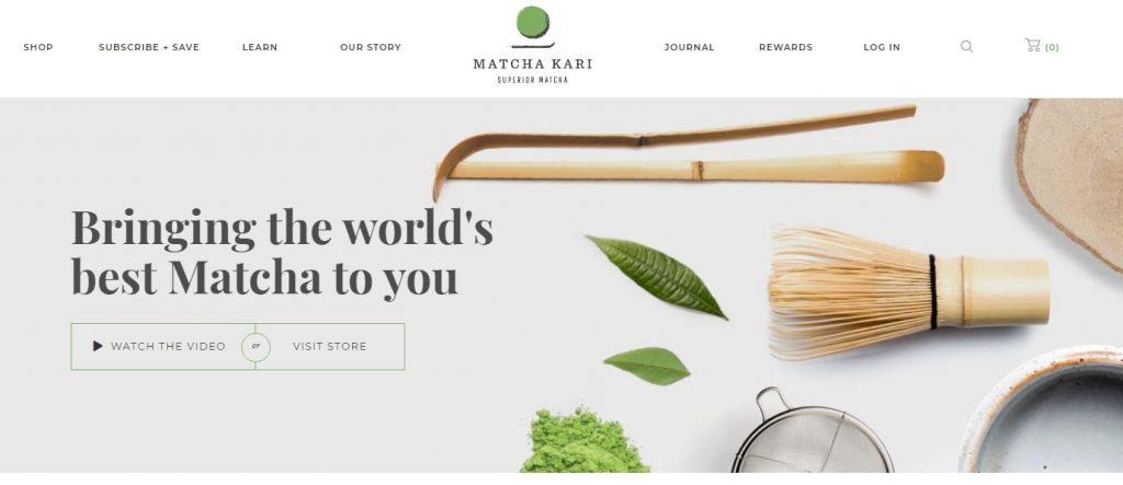 MatchaKari website